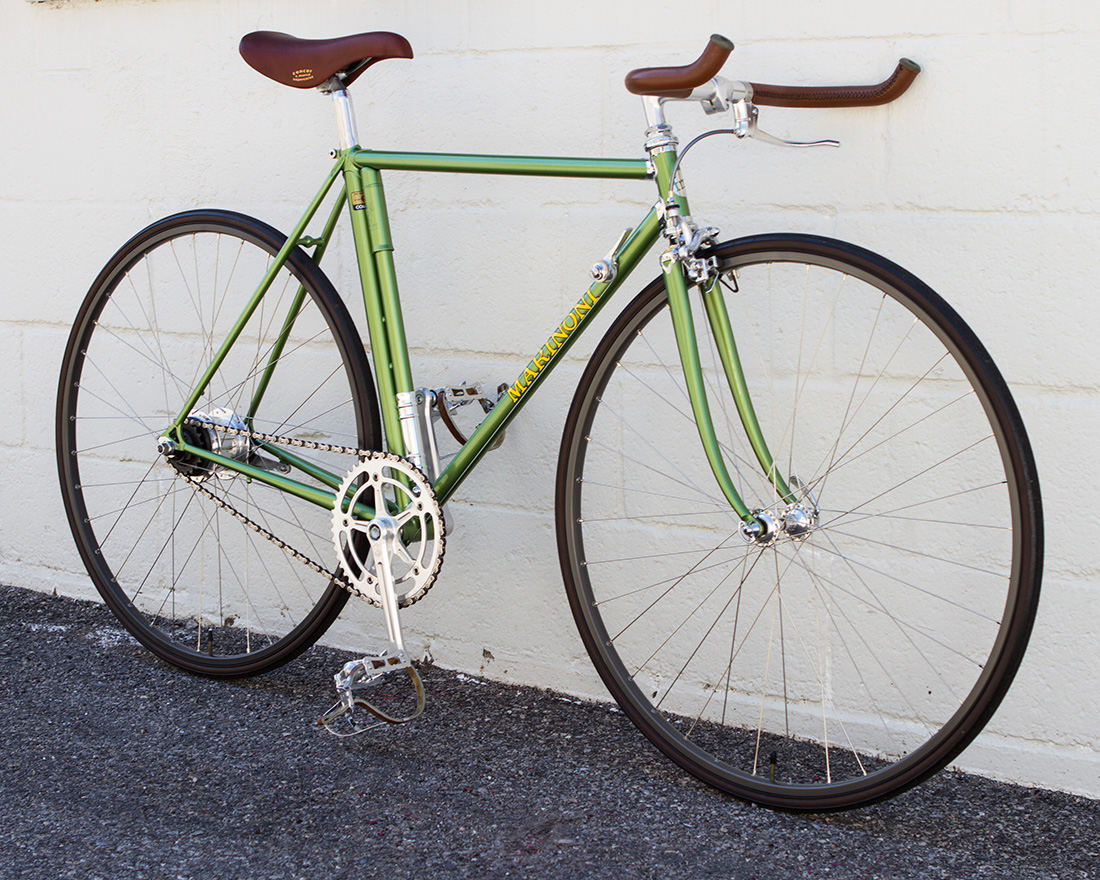 Green Vintage Marinoni Bicycle