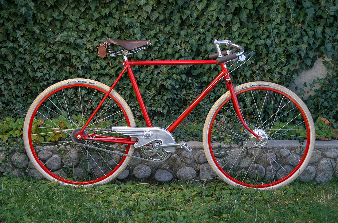 Red Path Racer 3-speed Bicycle