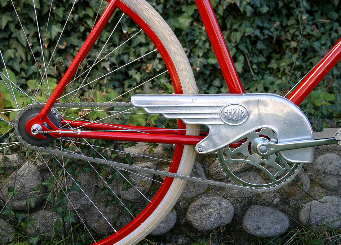 Red Path Racer Chain Guard