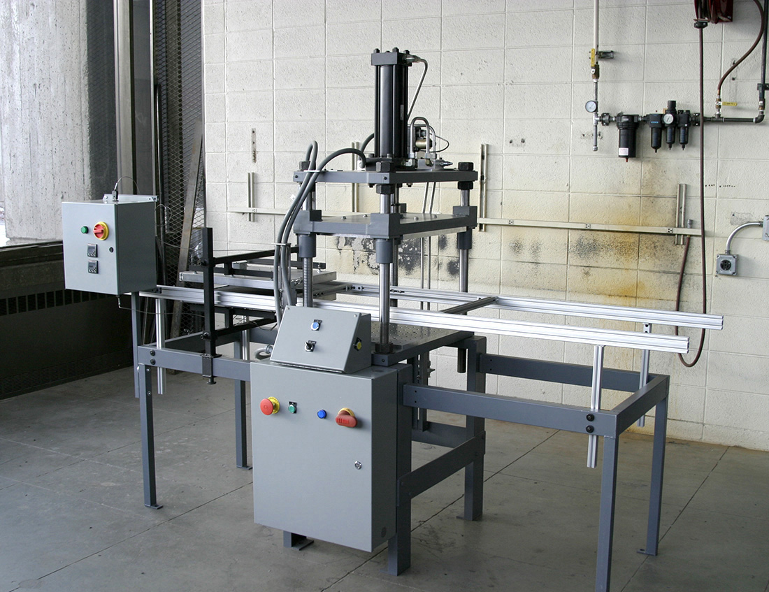Thermoplastic Composite Hydraulic Press